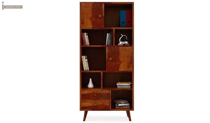 Javier Book Shelves (Honey Finish)-2