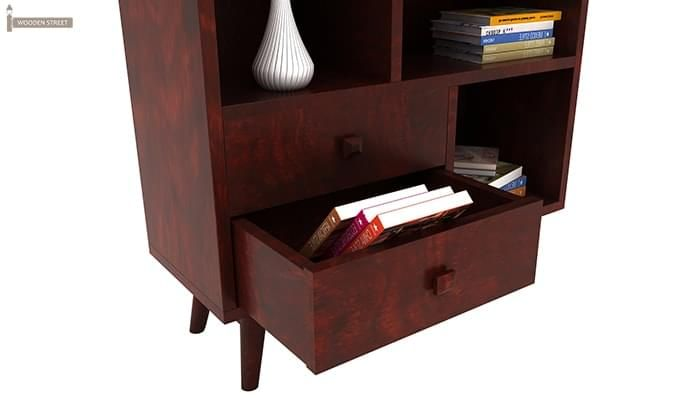 Javier Book Shelves (Mahogany Finish)-5