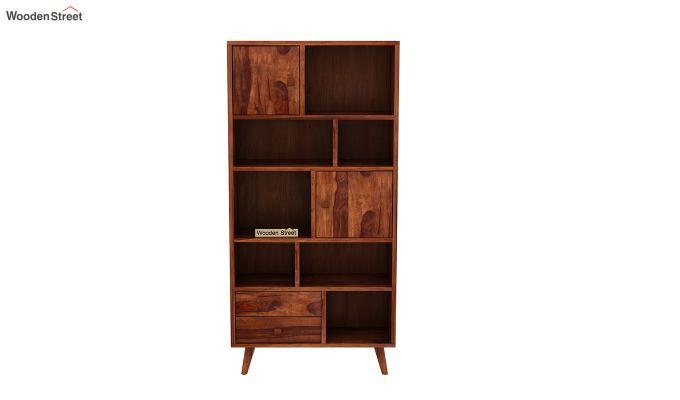 Javier Book Shelves (Honey Finish)-3