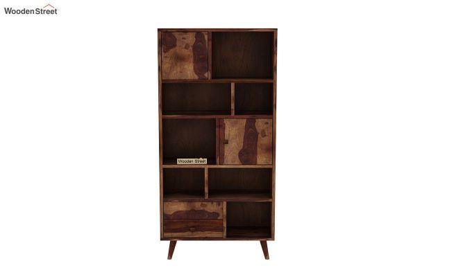 Javier Book Shelves (Teak Finish)-3