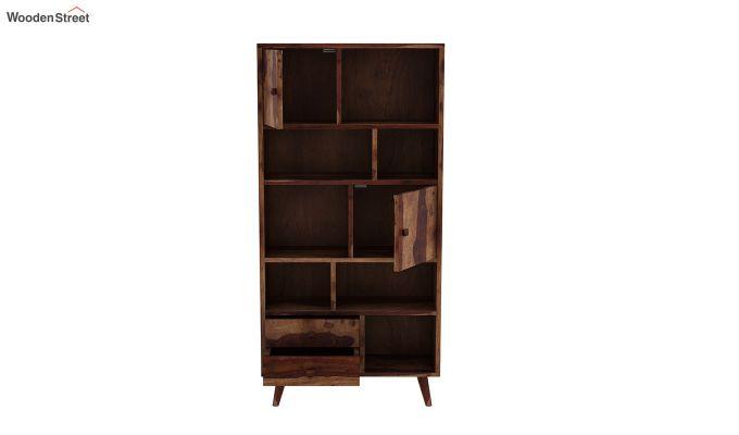 Javier Book Shelves (Teak Finish)-5