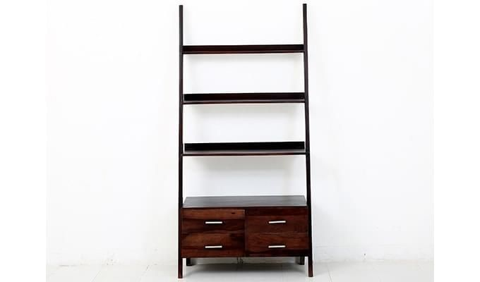 Jeffery Store Bookshelf (Mahogany Finish)-3