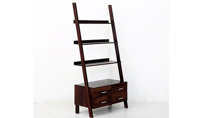 Jeffery Store Bookshelf (Mahogany Finish)-4