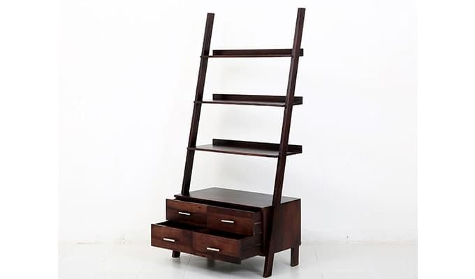 Jeffery Store Bookshelf (Mahogany Finish)-5