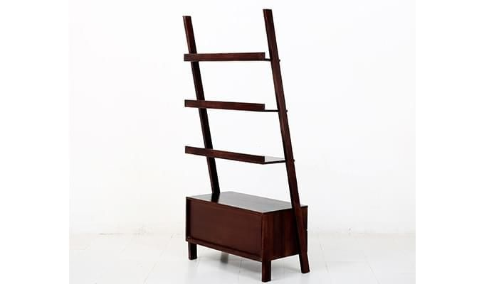 Jeffery Store Bookshelf (Mahogany Finish)-6