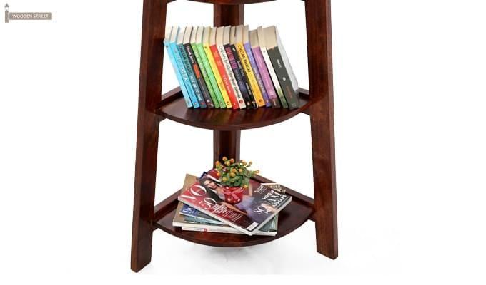 Juniper Store Book Shelf (Teak Finish)-9
