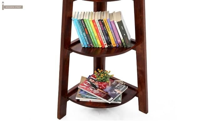 Juniper Book Shelf (Mahogany Finish)-9