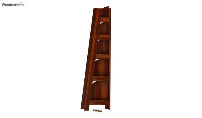 Juniper Book Shelf (Honey Finish)-6