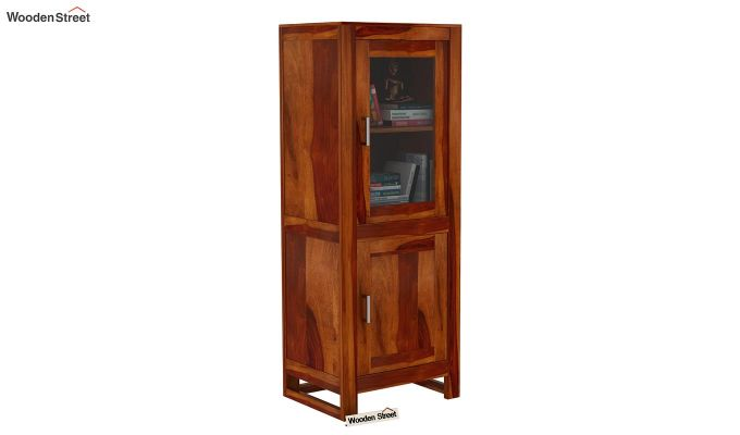 Lacey Bookshelves (Honey Finish)-1