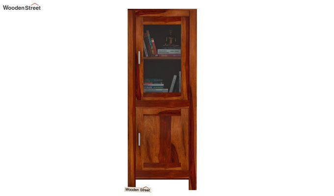 Lacey Bookshelves (Honey Finish)-2