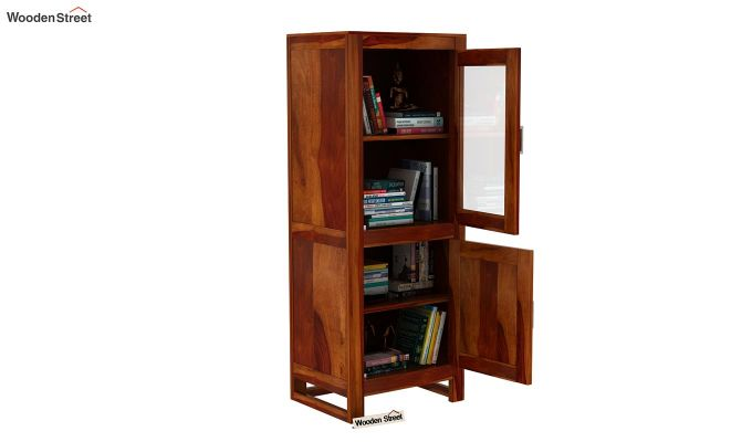 Lacey Bookshelves (Honey Finish)-5