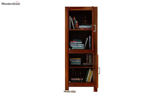 Lacey Bookshelves (Honey Finish)-6