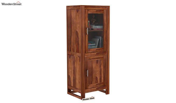 Lacey Bookshelves (Teak Finish)-1