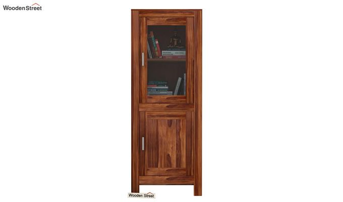 Lacey Bookshelves (Teak Finish)-2