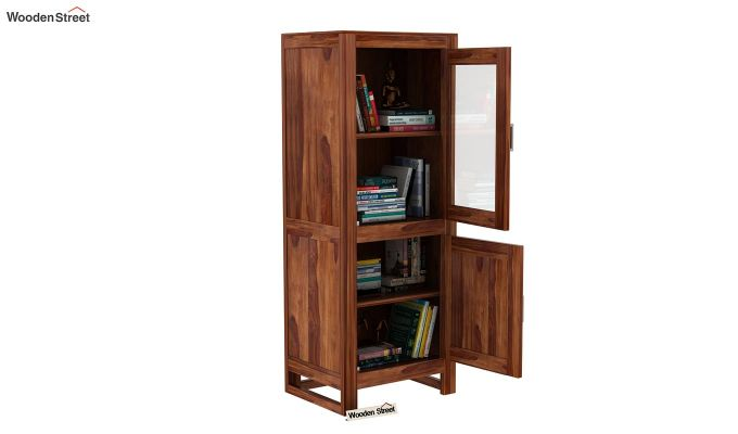 Lacey Bookshelves (Teak Finish)-5