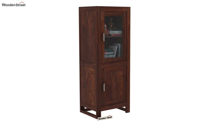 Lacey Bookshelves (Walnut Finish)-2