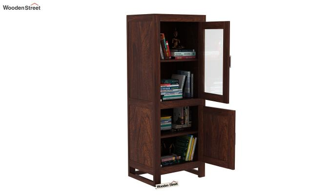 Lacey Bookshelves (Walnut Finish)-6