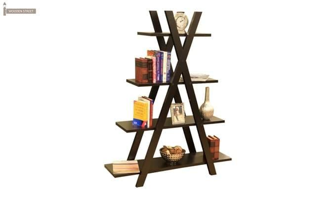 Lexia Bookshelf (Mahogany Finish)-2
