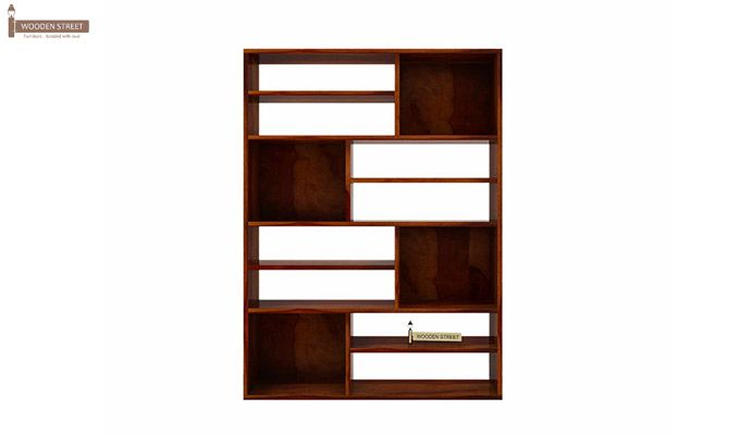 Libra Book Shelf (Honey Finish)-5