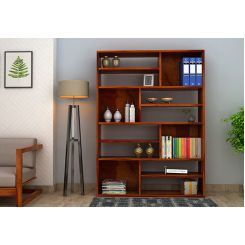 Libra Book Shelf (Honey Finish)