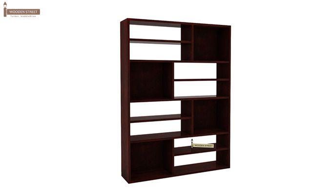 Libra Book Shelf (Mahogany Finish)-3