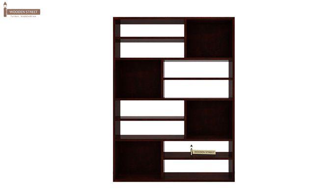 Libra Book Shelf (Mahogany Finish)-4