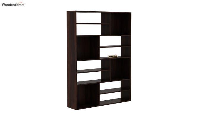 Libra Book Shelf (Walnut Finish)-2