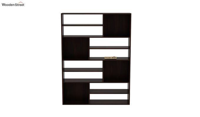 Libra Book Shelf (Walnut Finish)-3