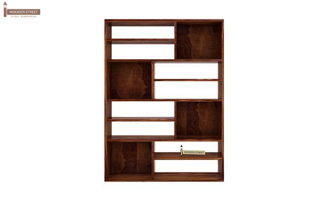 Libra Book Shelf (Teak Finish)-4