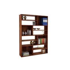 Libra Book Shelf (Teak Finish)
