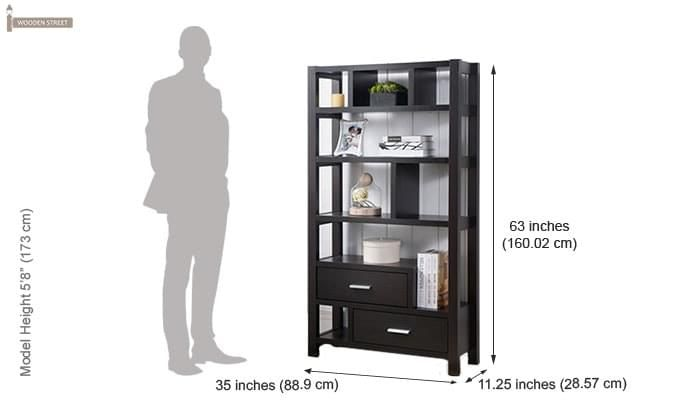 Lilian Bookshelves (Black Finish)-3