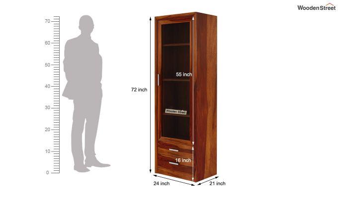 Marcella Bookshelves (Honey Finish)-7