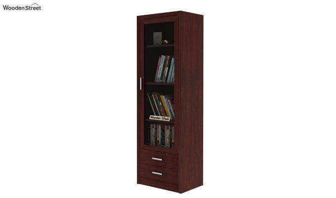 Marcella Bookshelves (Mahogany Finish)-1