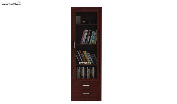 Marcella Bookshelves (Mahogany Finish)-2