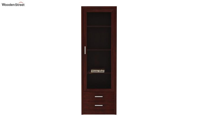Marcella Bookshelves (Mahogany Finish)-4