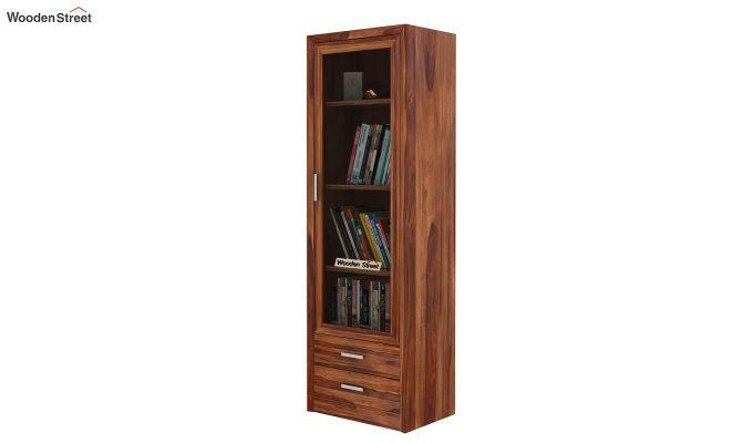 Marcella Bookshelves (Teak Finish)-1