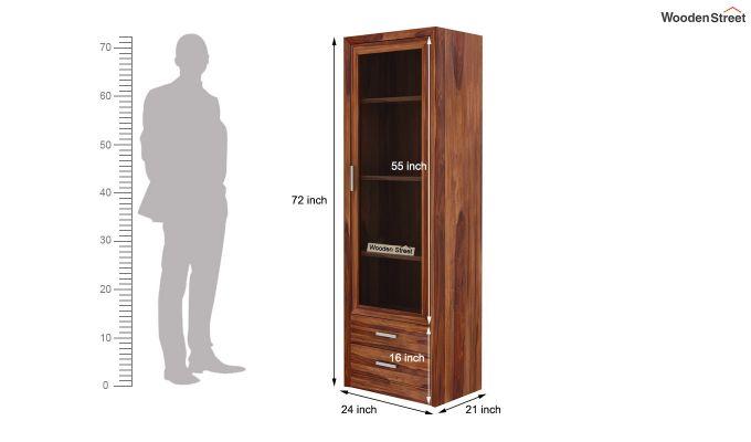 Marcella Bookshelves (Teak Finish)-6