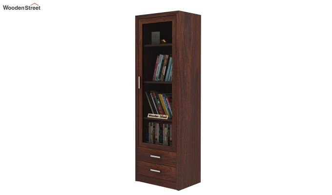 Marcella Bookshelves (Walnut Finish)-1