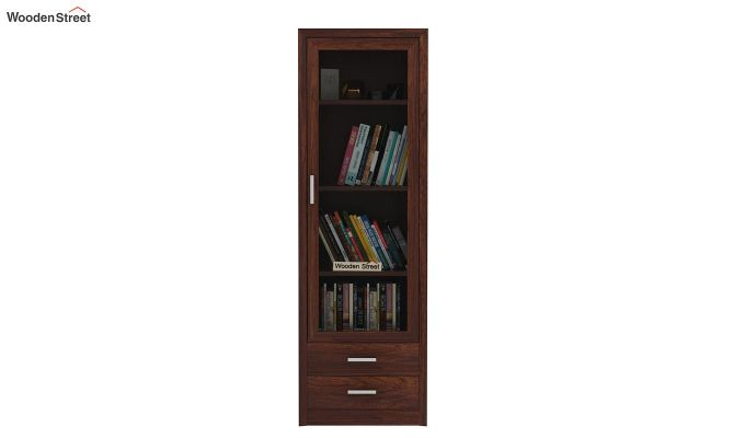 Marcella Bookshelves (Walnut Finish)-2