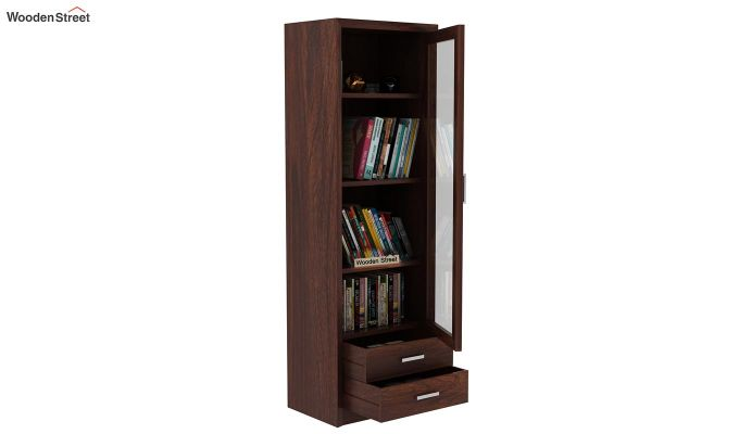 Marcella Bookshelves (Walnut Finish)-5