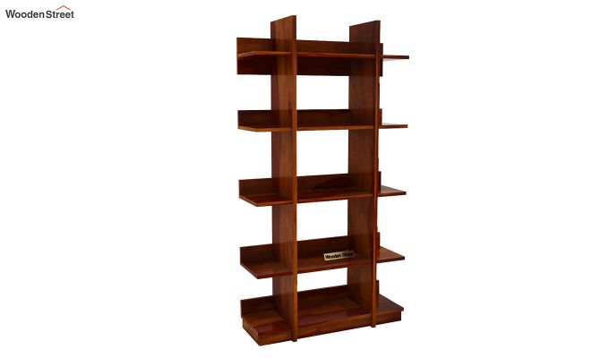 Miranda Bookshelf (Honey Finish)-4