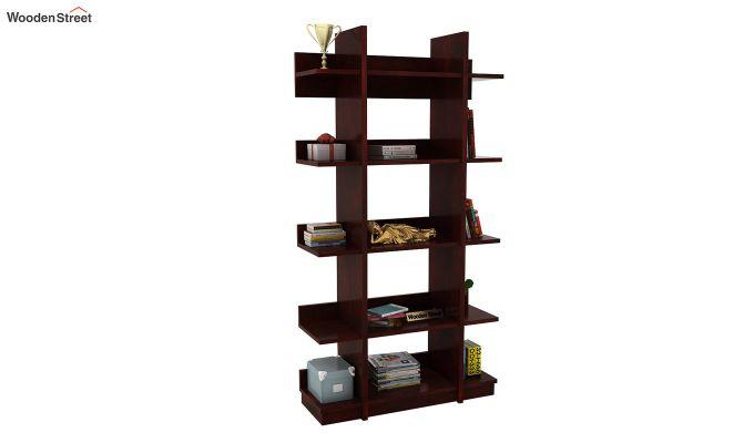 Miranda Bookshelf (Mahogany Finish)-1