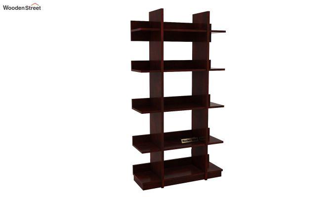 Miranda Bookshelf (Mahogany Finish)-3