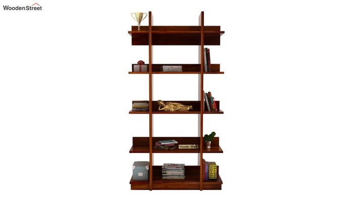Miranda Bookshelf (Teak Finish)-2