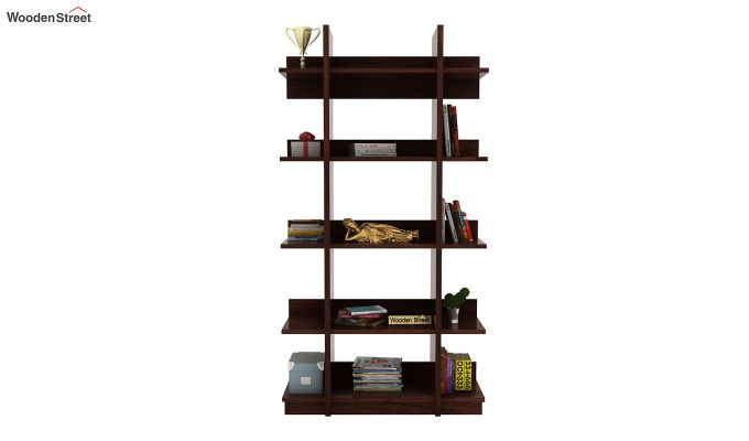Miranda Bookshelf (Walnut Finish)-2