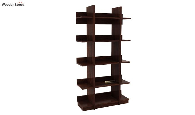 Miranda Bookshelf (Walnut Finish)-3