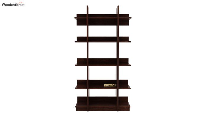 Miranda Bookshelf (Walnut Finish)-4