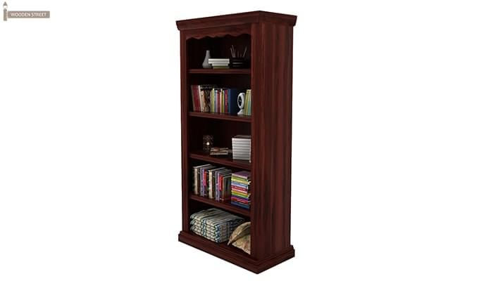 Nelson Bookshelf (Mahogany Finish)-2