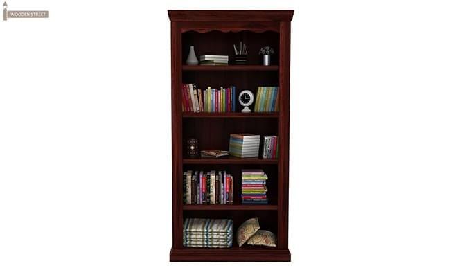 Nelson Bookshelf (Mahogany Finish)-3