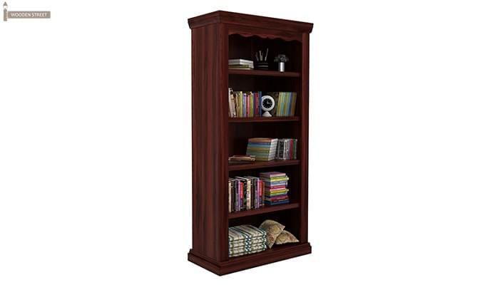 Nelson Bookshelf (Mahogany Finish)-4